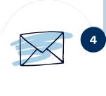 Les personnes intéressées vous contactent par mail ou par téléphone.